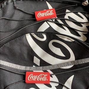Coca Cola Bags - Coca Cola promotional rare backpack